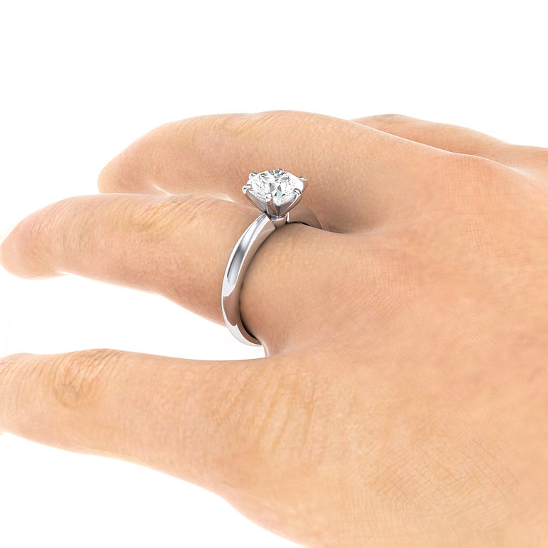 engagement ring - diamond proportions