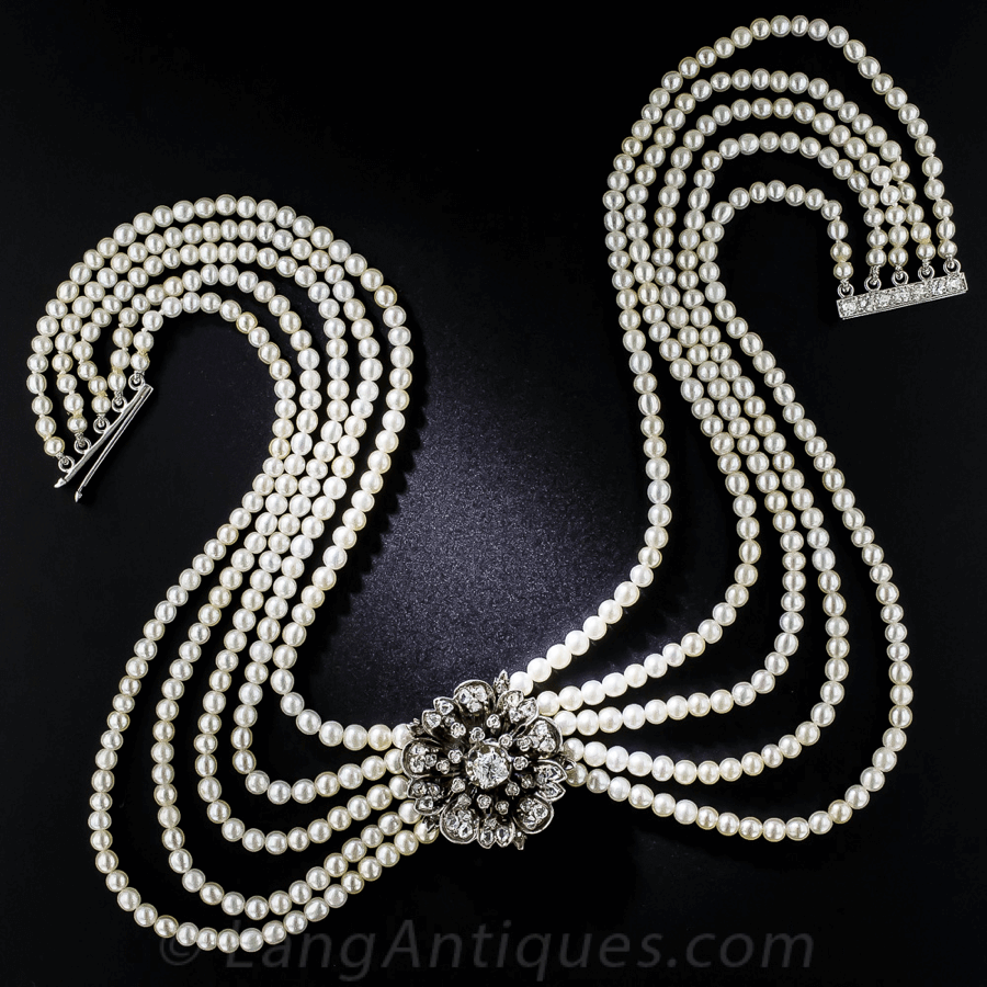 Belle Époque Jewelry Choker
