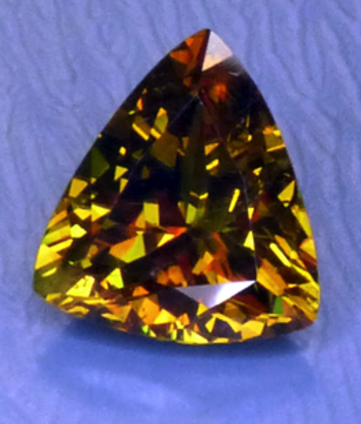 sphene - colored gemstone