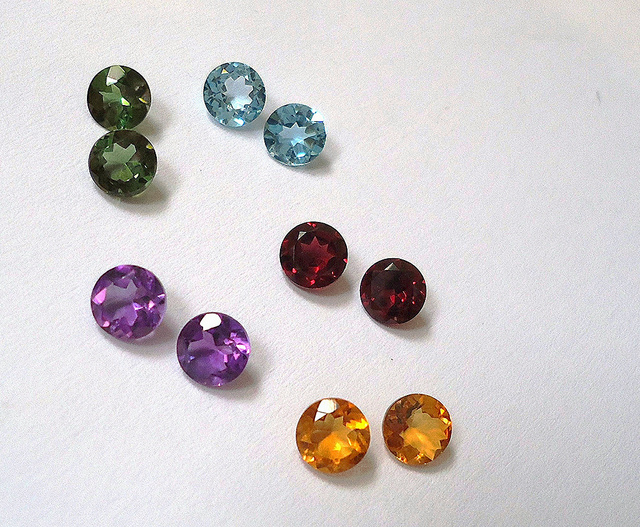 Brazilian colored gems - GIA GemSet