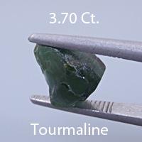Fancy Elongated Radiant Emerald Cut Tourmaline, Himalaya Mine, California, U.S.A., 2.97 cts