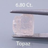 Asscher Style Square Emerald Cut Topaz, Pakistan, 1.72 cts