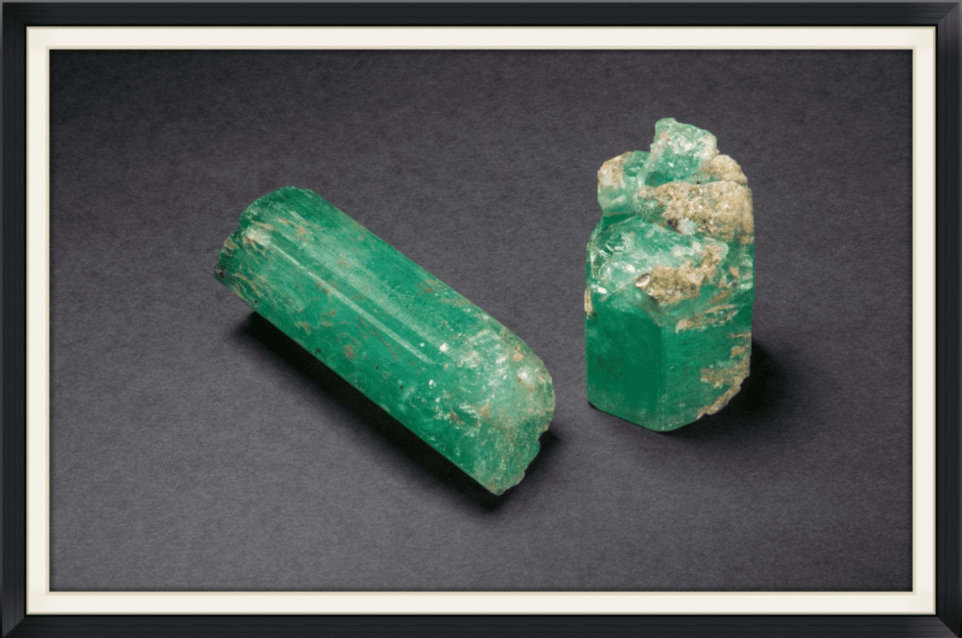 LKA and Stephenson - largest emeralds