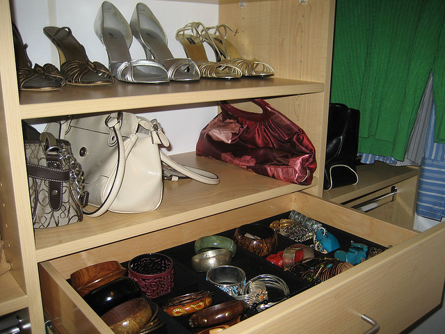 """New Closet – Jewelry Drawer"" by Ruth L is licensed under CC By-ND 2.0"