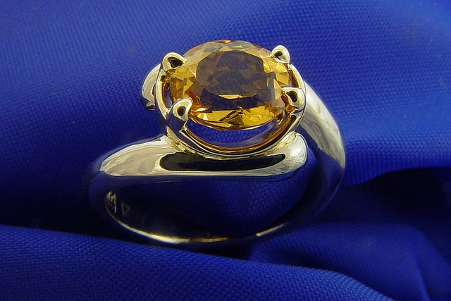 """Yellow Topaz Ring"" by Mark Somma is licensed under CC By 2.0"