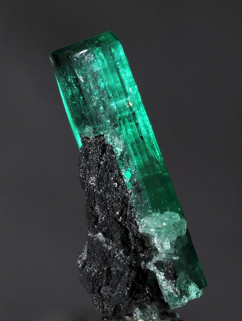 """Beryl var. Emerald"" by Géry Parent is licensed under CC By-ND 2.0"