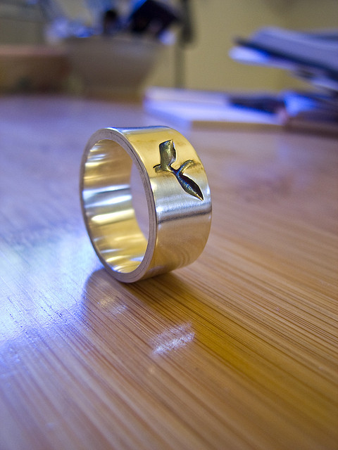 """My First Ring"" by Tobias Boyd is licensed under CC By-SA 2.0"
