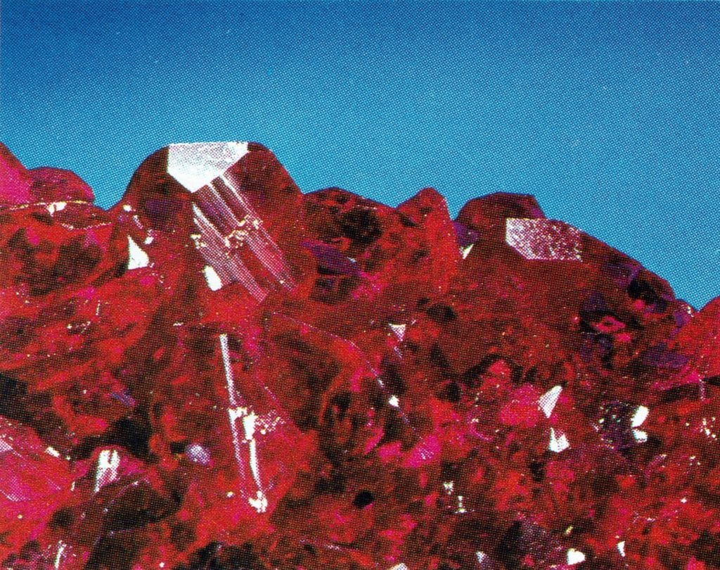 Chatham ruby crystals