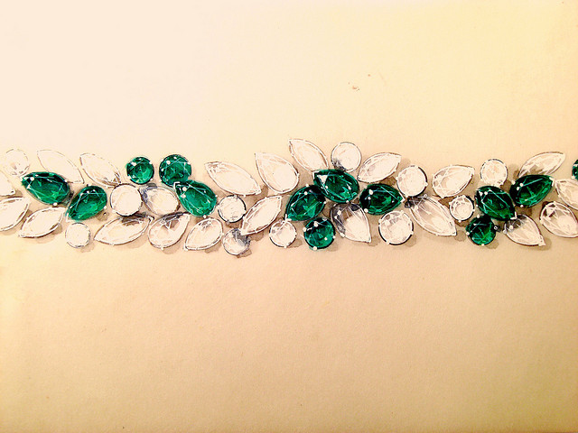 """Emerald, Diamond Bracelet"" by gemteck1 is licensed under CC By 2.0"