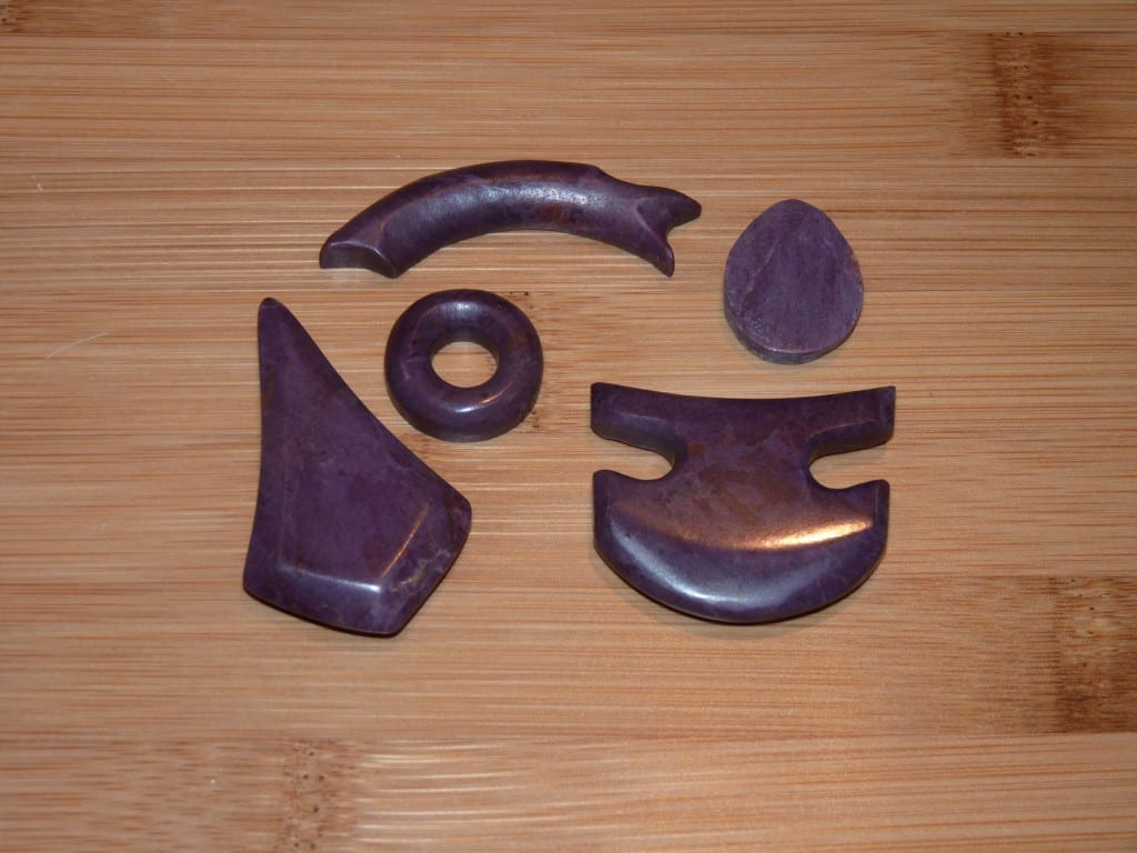 Turkish Purple Jade - Polished Carvings