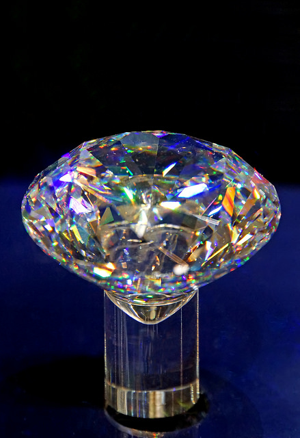 """Netherlands-4829 - Gassan 121,"" a Gassan 121 cut diamond, by Dennis Jarvis is licensed under CC By-SA 2.0"