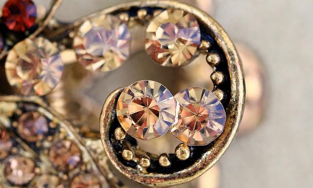 gemstone doublets - rhinestones