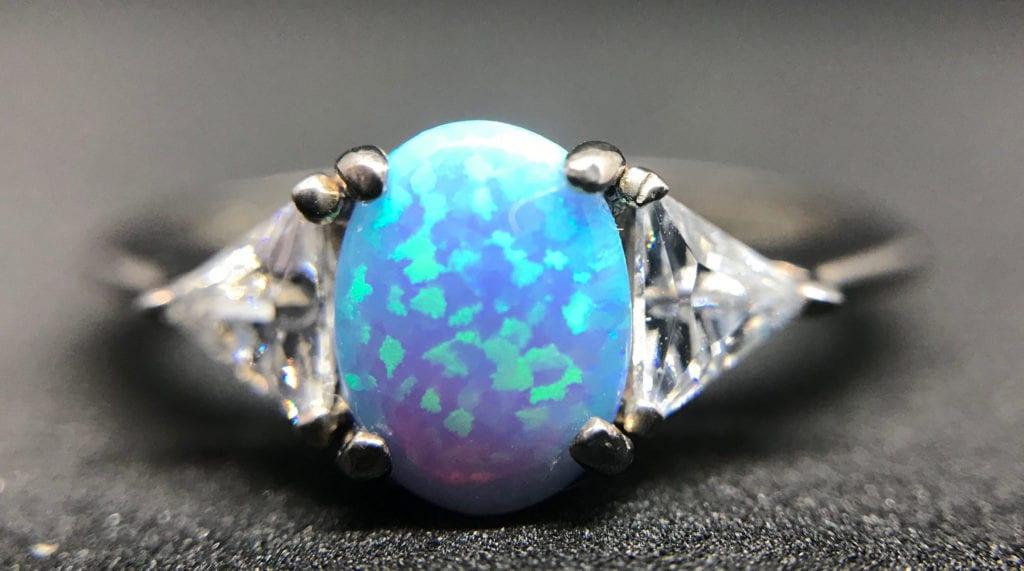 opal ring - opal gems