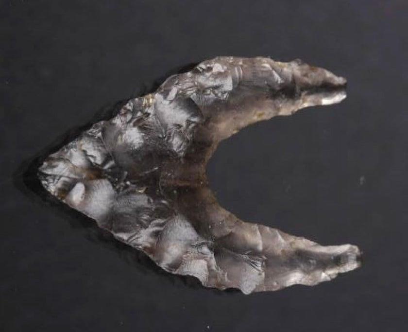 bird-point obsidian arrowhead - Japan