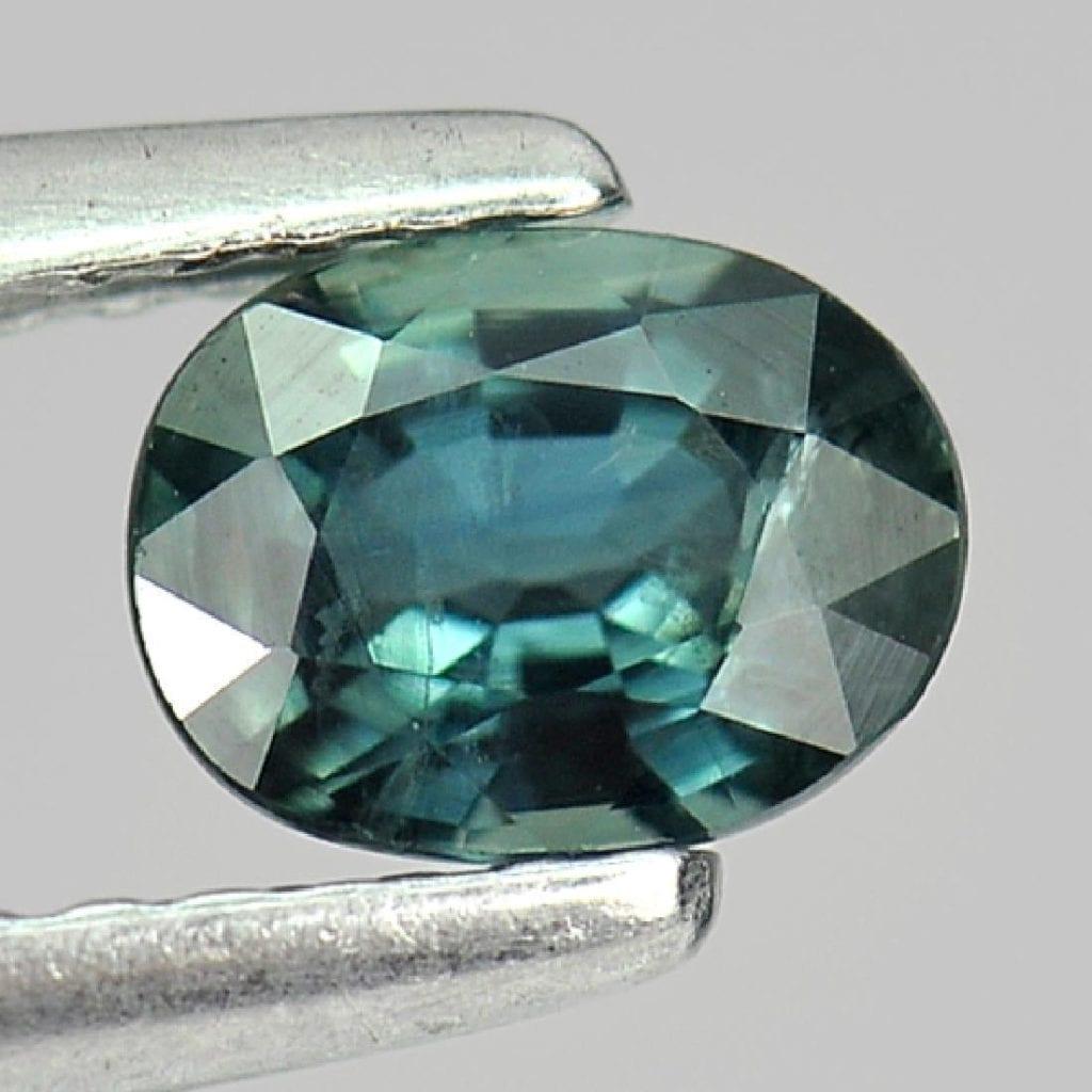 greenish blue sapphire - Thailand