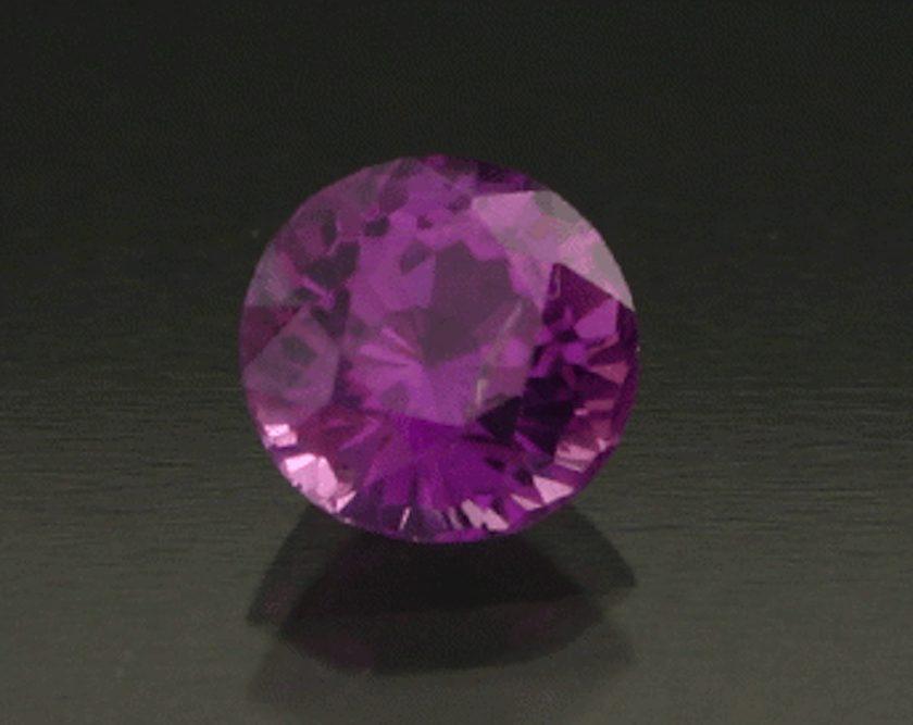 purplish pink sapphire - Sri Lanka