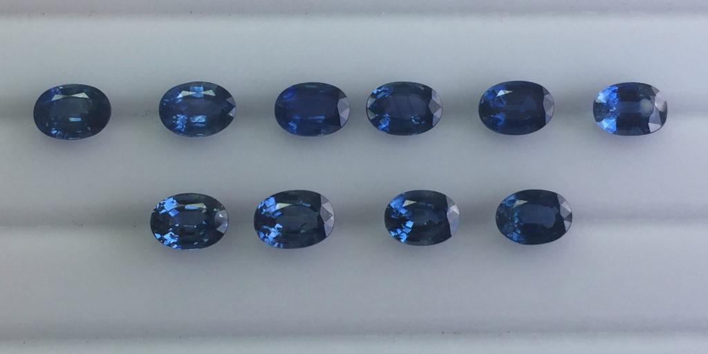 sapphire buying - sapphires from Kanchanaburi, Thailand
