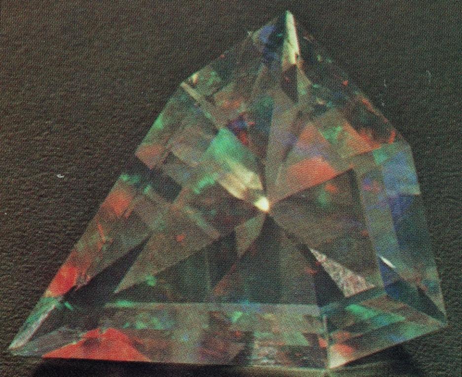 Contraluz opal, front illumination - opal gems