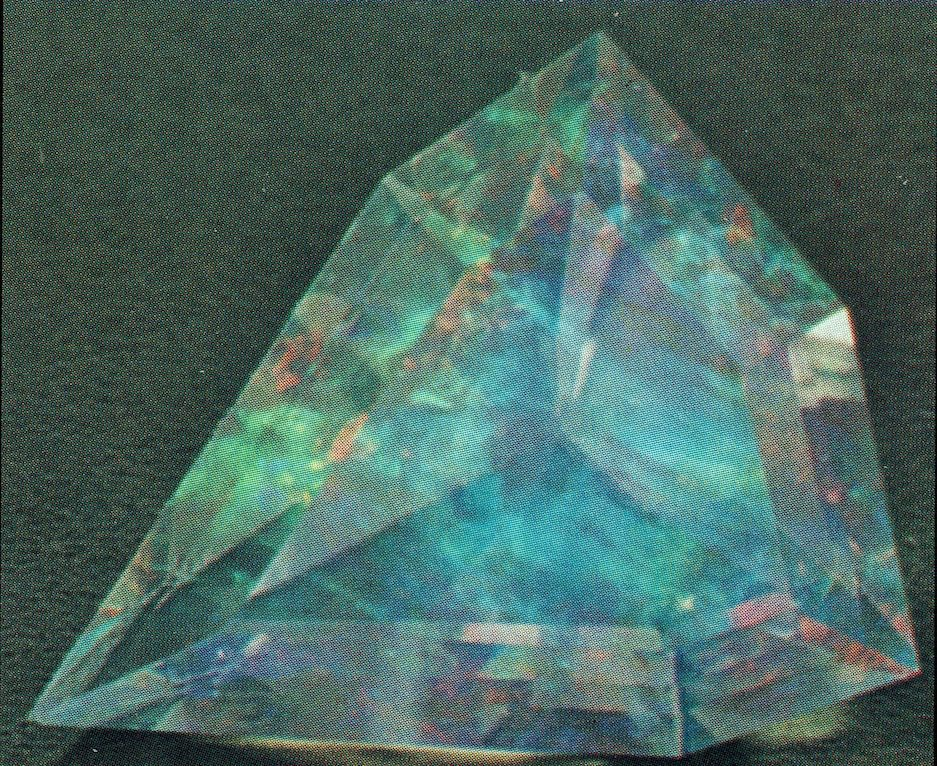 Contraluz opal, rear illumination - opal gems