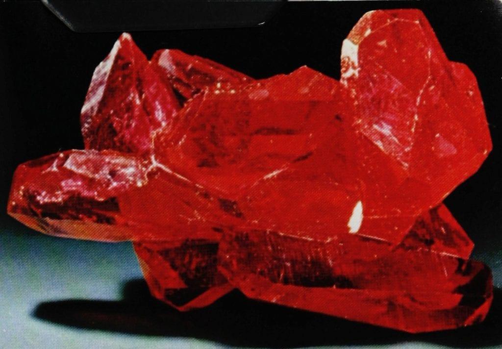 flux-grown rubies