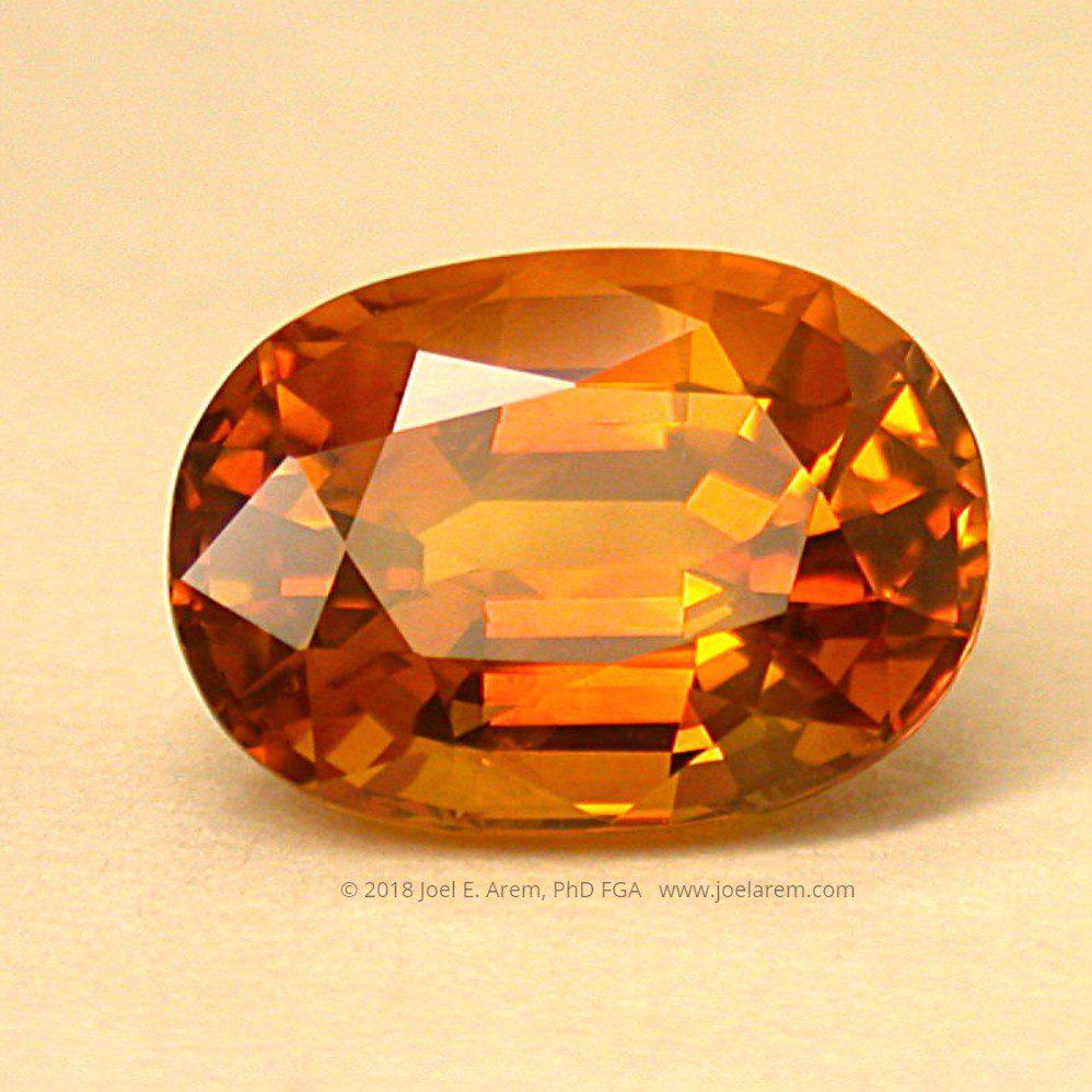 heat-treated geuda sapphire - Sri Lanka