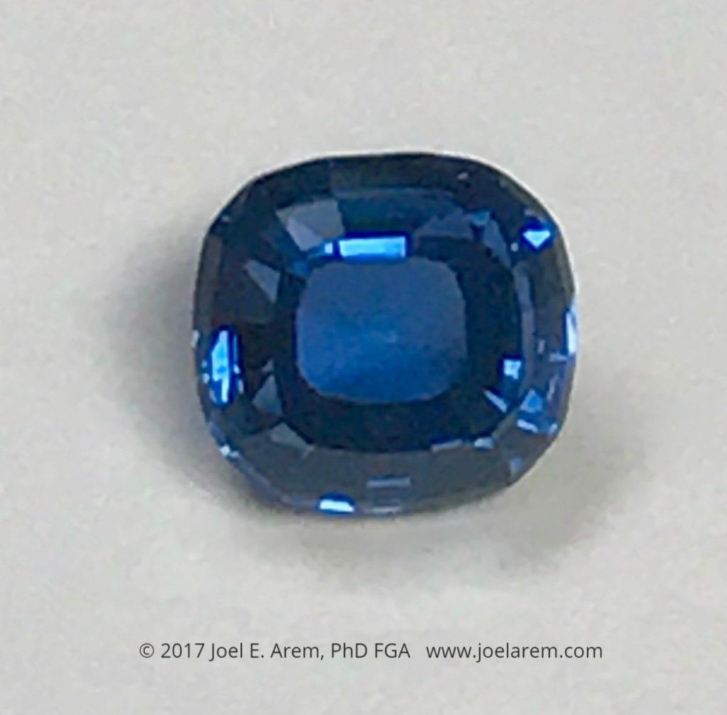 sapphire - Yogo Gulch, Montana