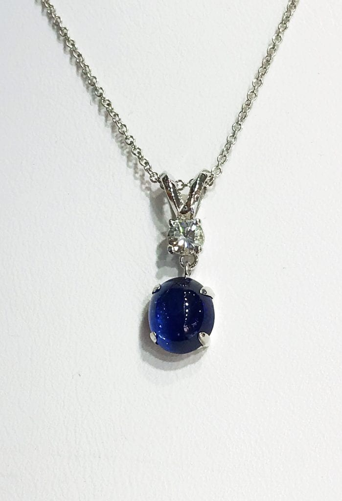 sapphire buying - cabochon