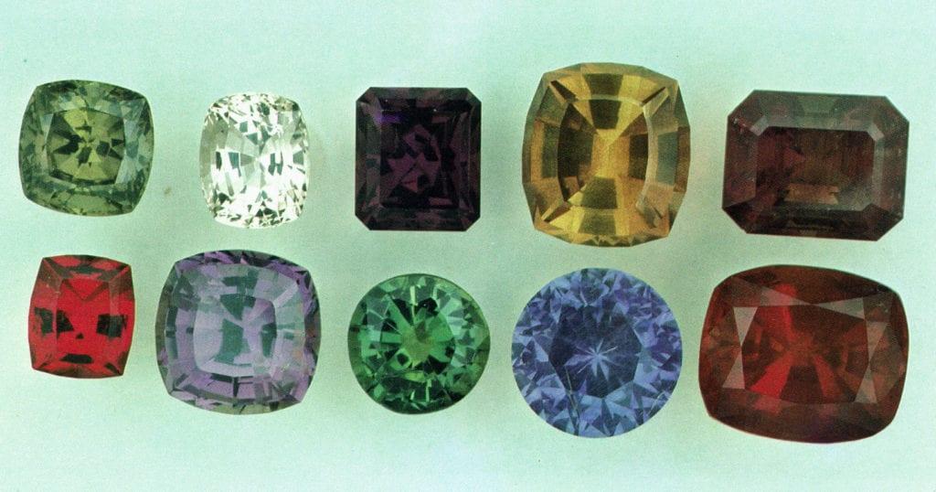 Tanzanian sapphires