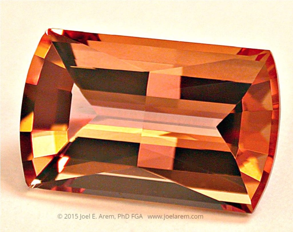 custom-cut imperial topaz - Brazil