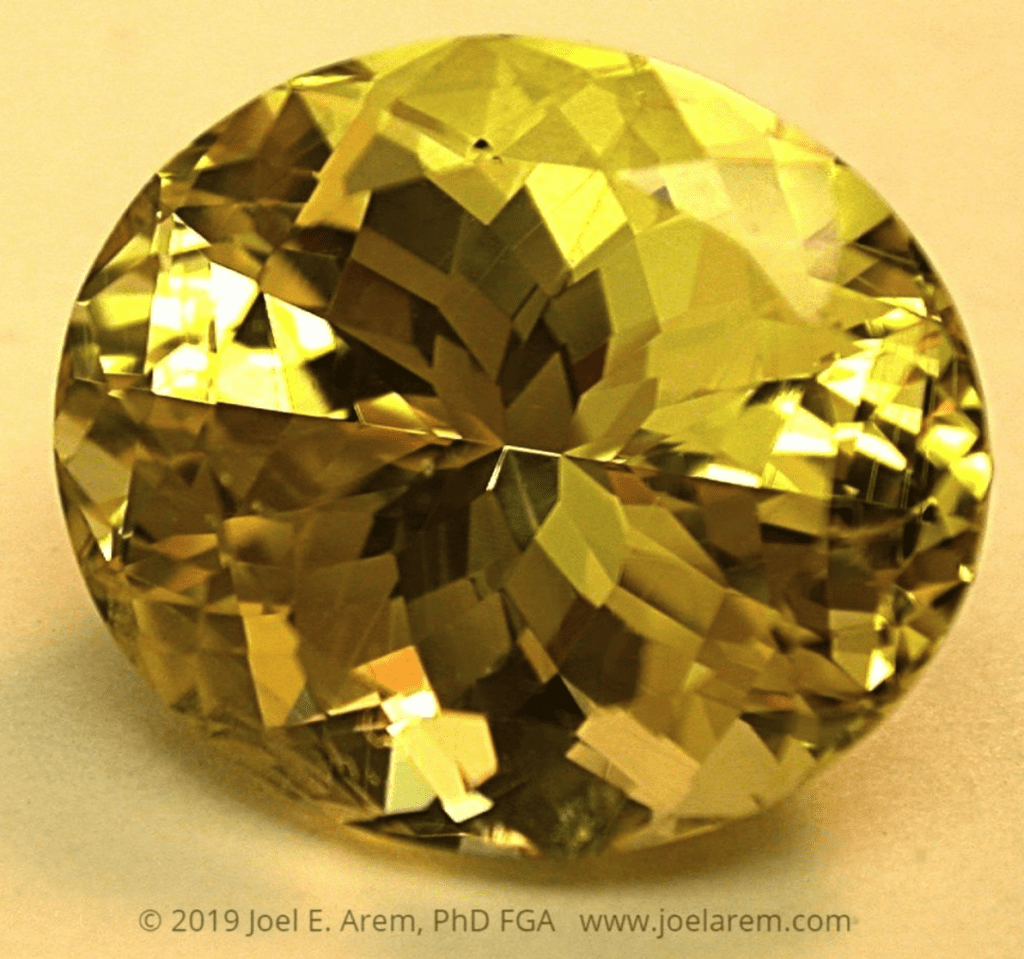 yellow sapphire - Sri Lanka