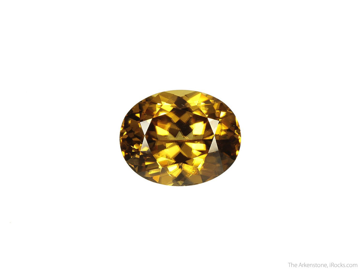 oval brilliant-cut zircon - Sri Lanka