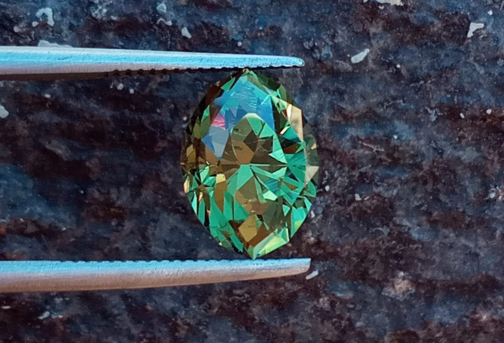 3.80-ct demantoid - Namibia