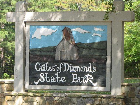 """Crater of Diamonds State Park, Ark."" by Kathy is licensed under CC By 2.0"