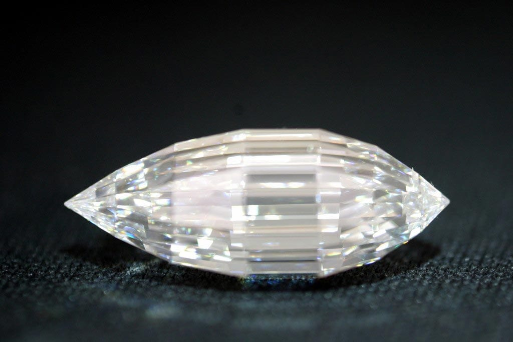 Esperanza, the most valuable diamond mined in the US. © Embee Diamonds. Used with permission.
