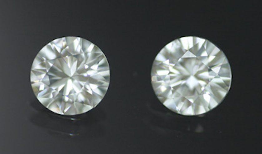 zircon pair - Cambodia