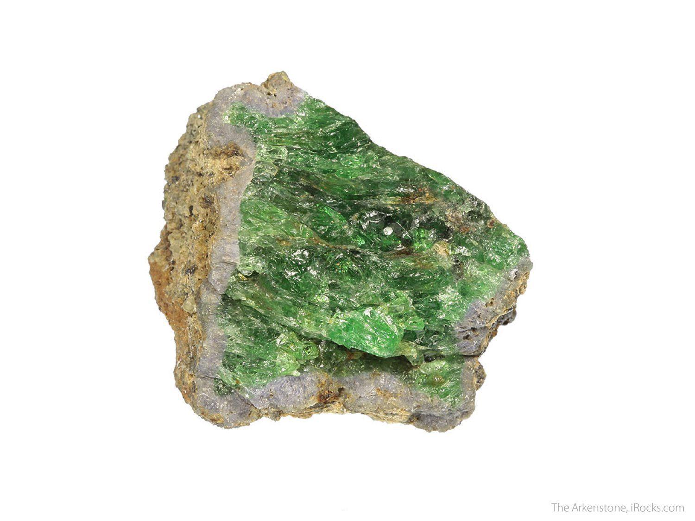 tsavorite crystal - Kenya