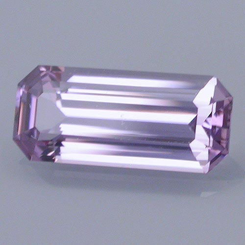 """Spinel,"" 0.87 cts., long emerald cut. ©Dan Stairs Custom Gemstones. Used with permission."