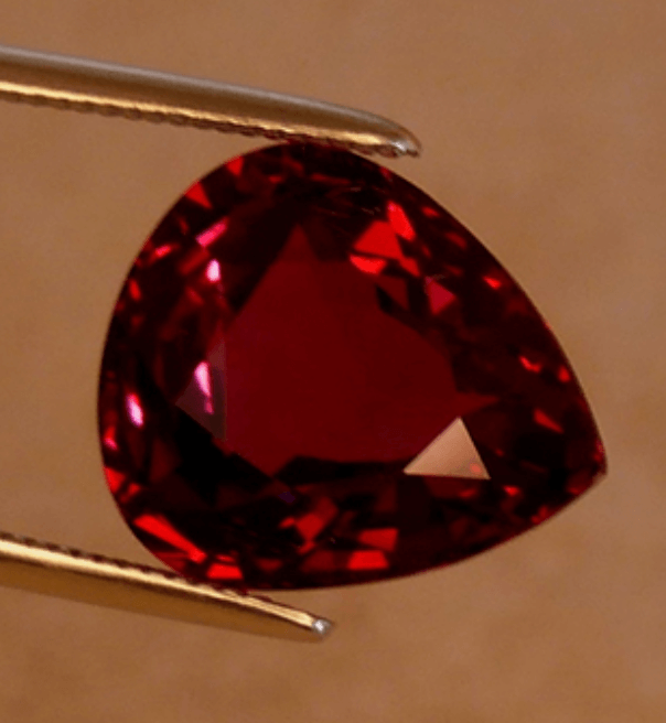 Rose Red Spinel, Sri Lanka - spinel buying guide