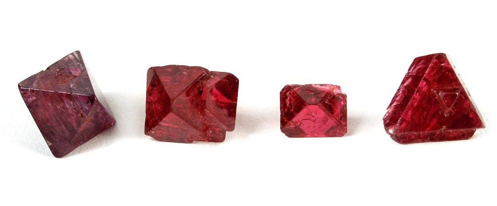 Set of Burmese Spinels - Spinel buying guide