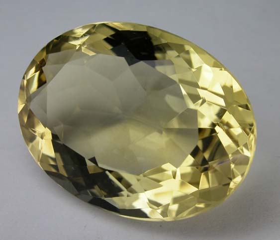 gem cutting styles - mixed-cut citrine