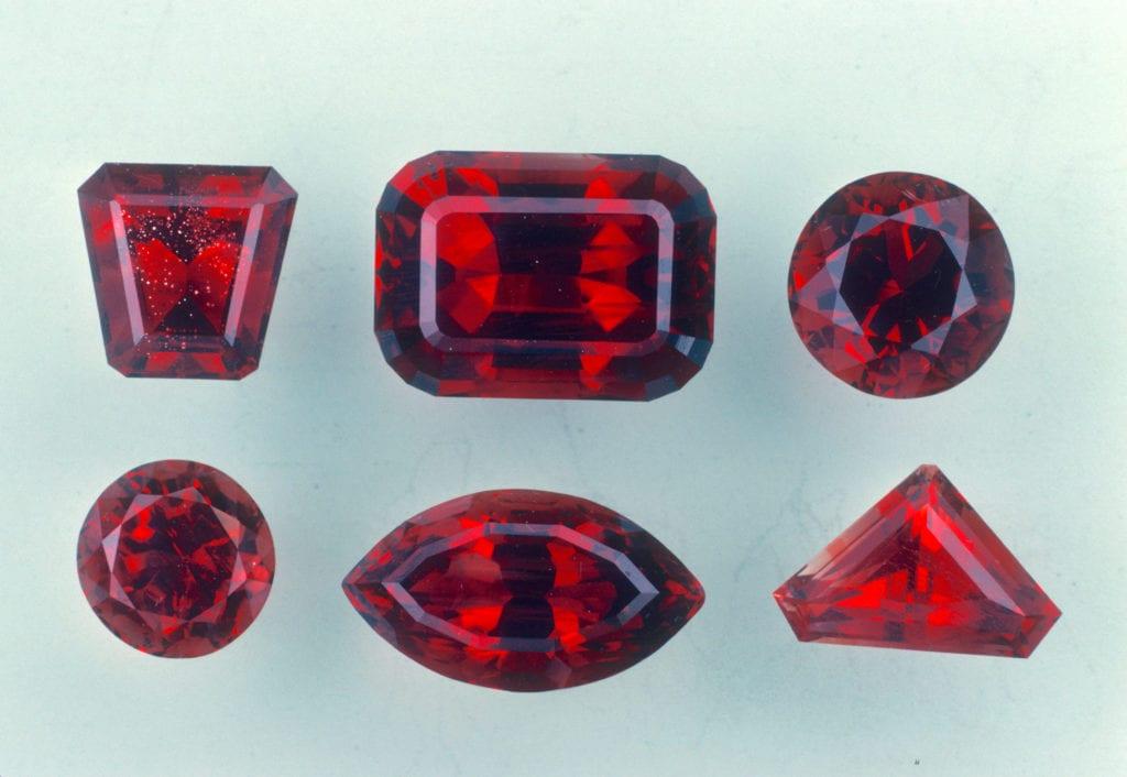 Oregon sunstone - red colors