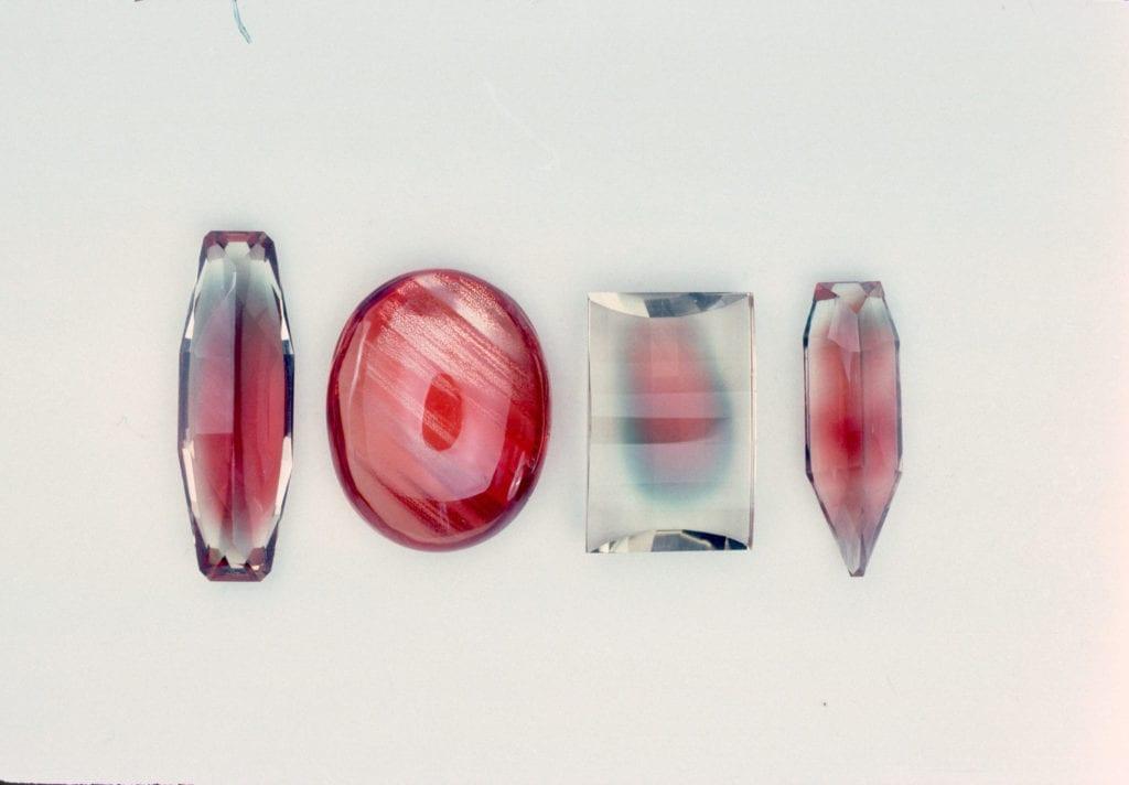 Oregon sunstone - examples of schiller