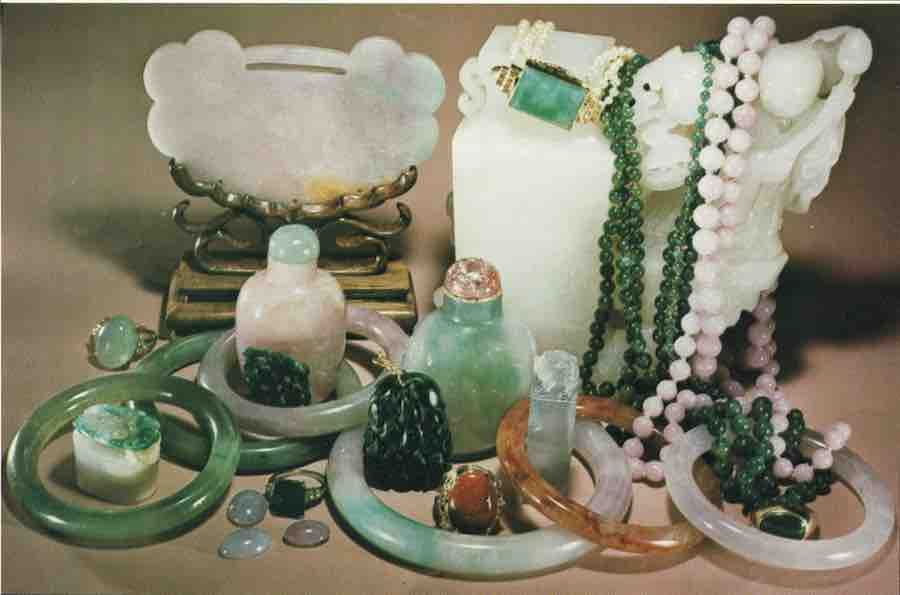 Jadeite and nephrite - China and Russia