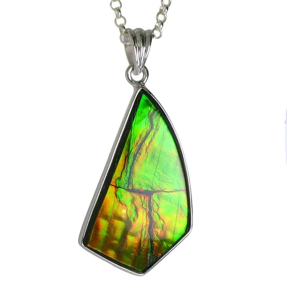 aa02b1a9d25b1a Ammolite Value, Price, and Jewelry Information - International Gem ...
