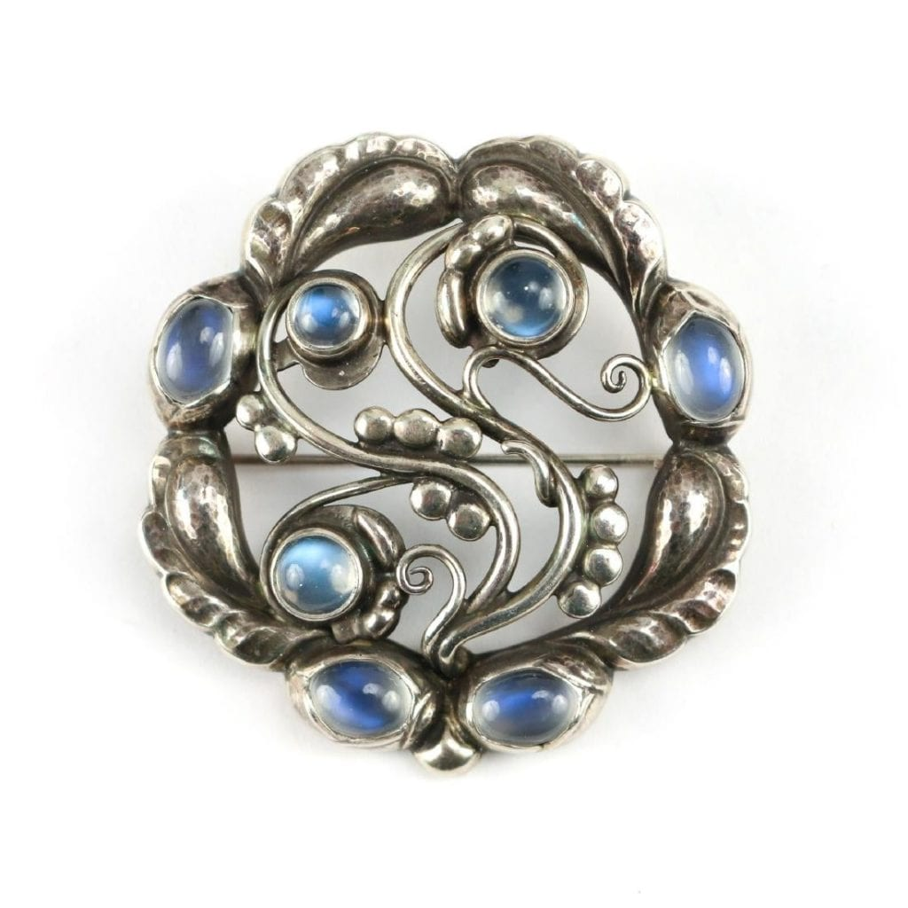 Georg Jensen brooch, 1914