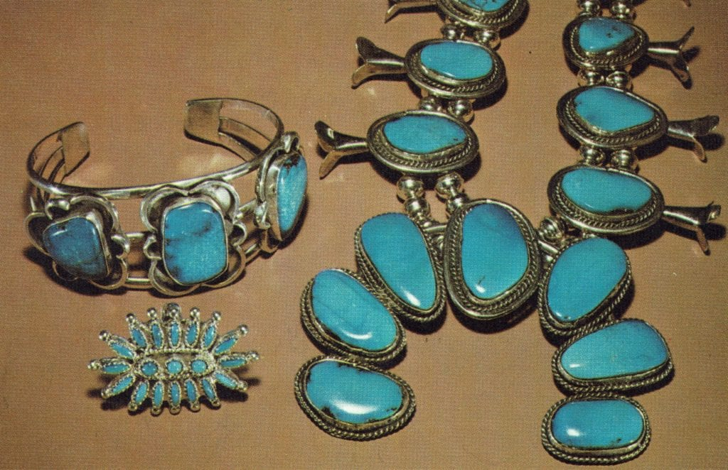 d87002fb7d Turquoise in silver jewelry - Arizona and New Mexico