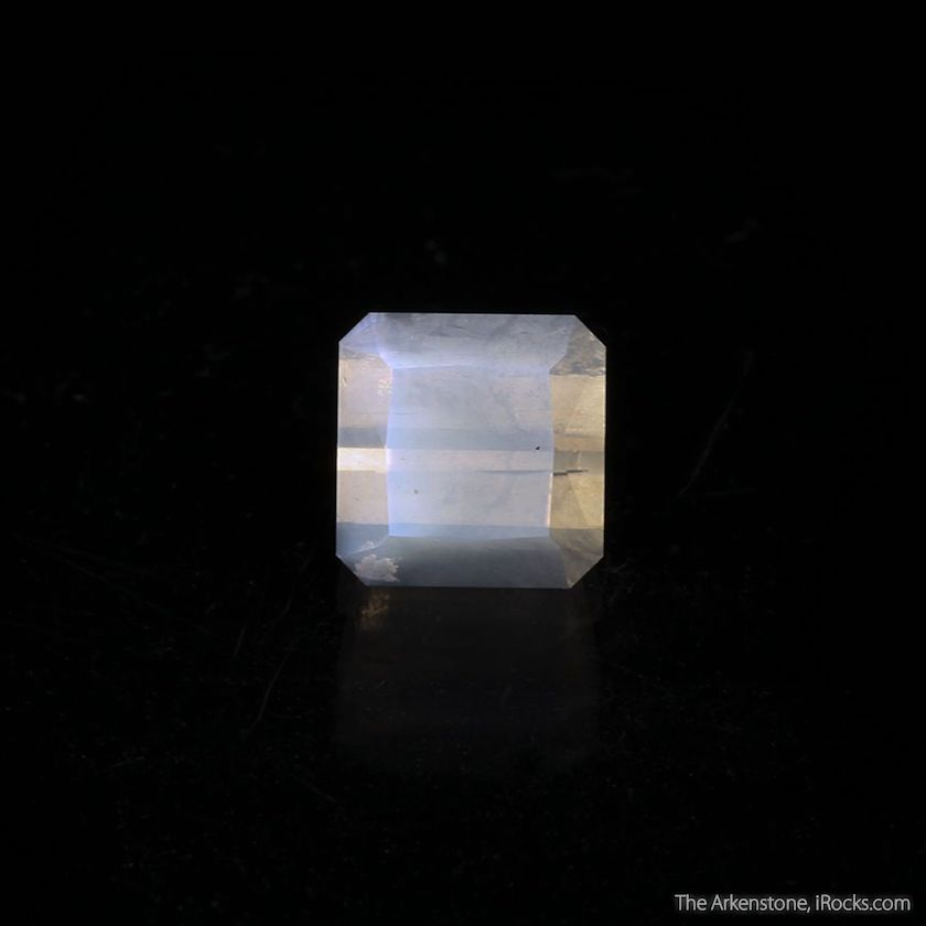 faceted moonstone - India