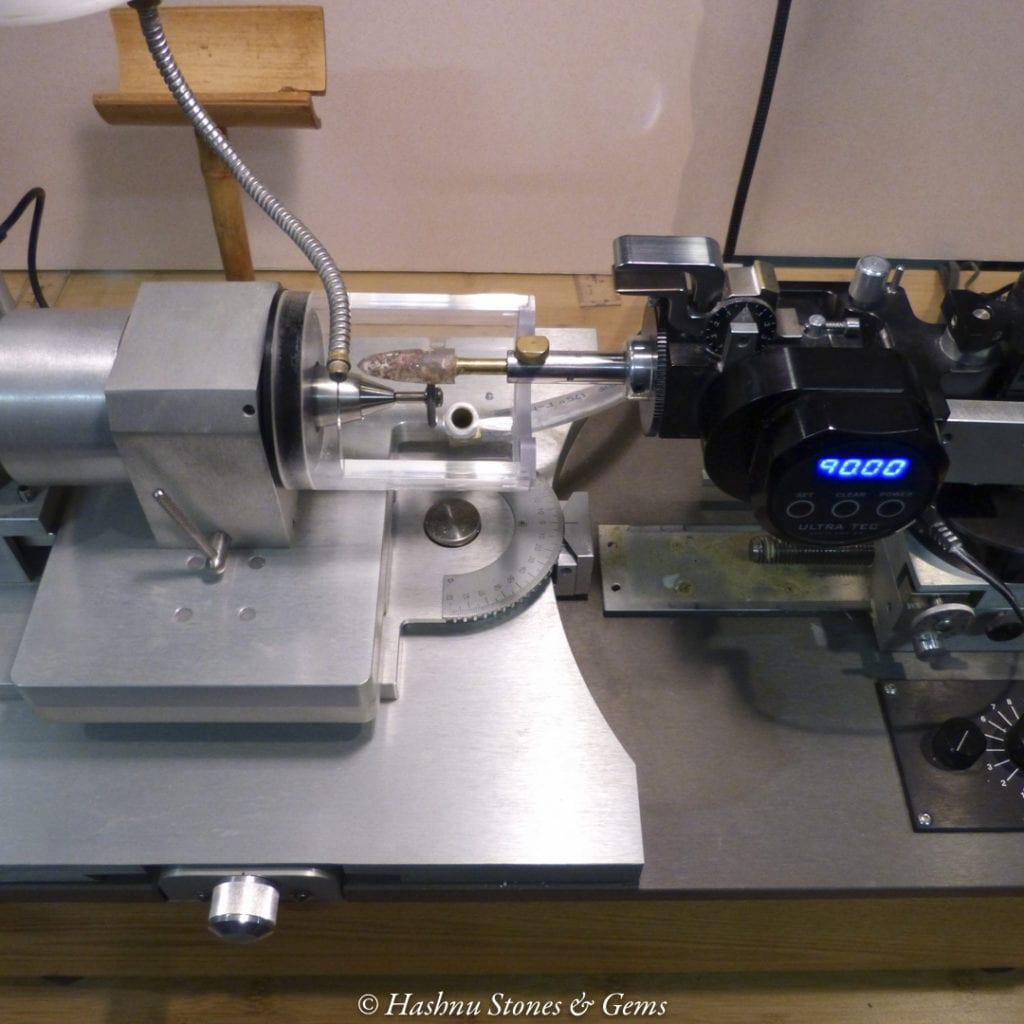 faceting equipment - fantasy cutting