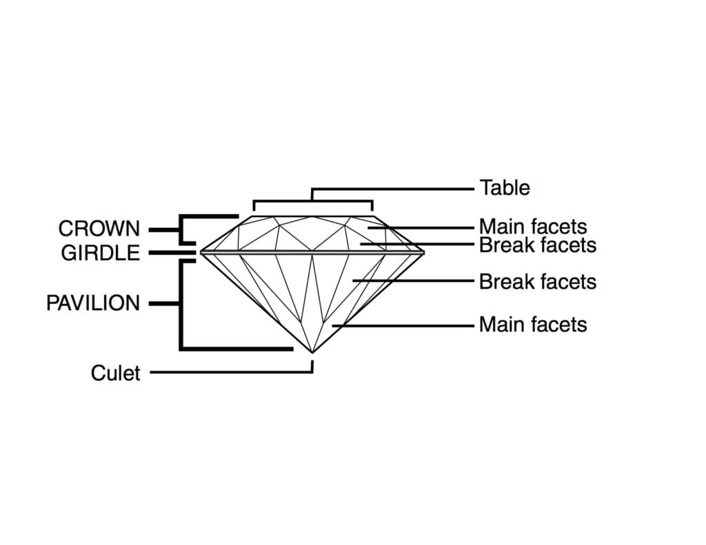 faceting process - facet terms