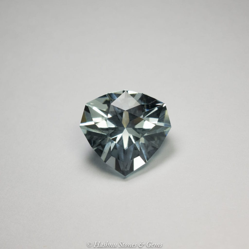custom faceting - aquamarine